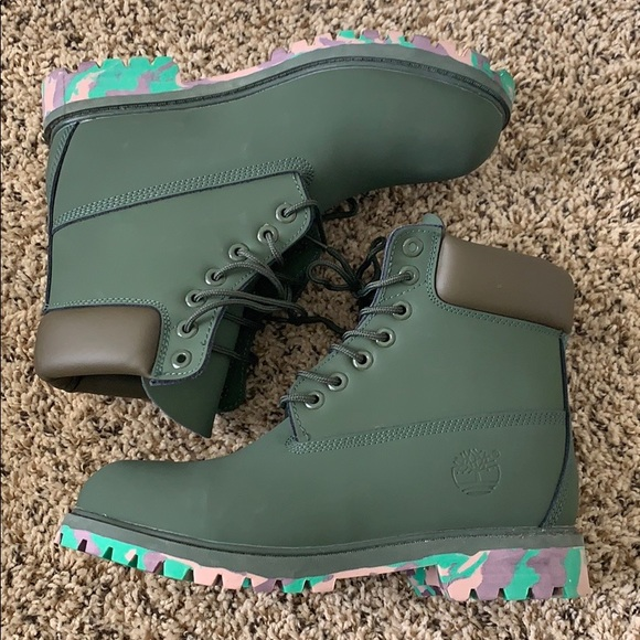 Timberland Other - Timberland rare special lace up combat men's boots